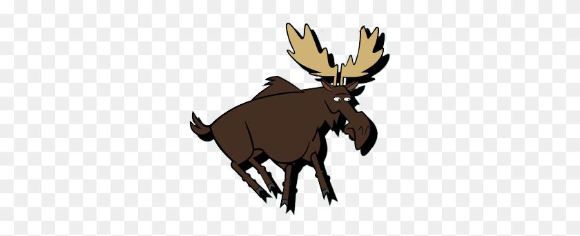 309x282 Image - Moose PNG