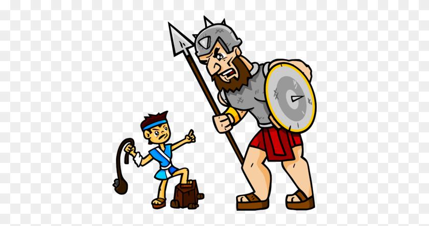 Image David And Goliath - David And Goliath Clipart
