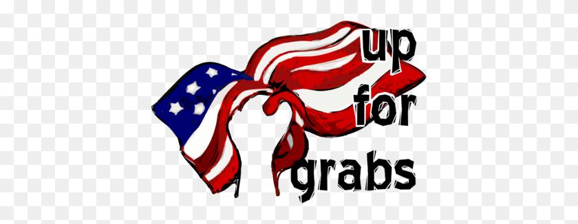 Image Hand Grabbing The American Flag - Hand Grabbing Clipart