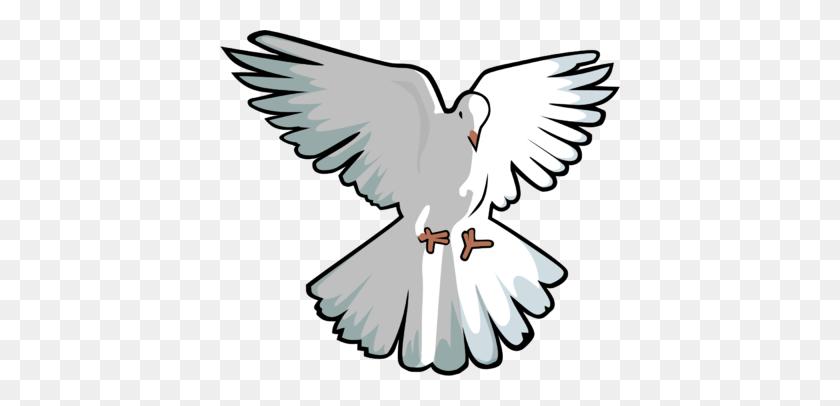 Image Hovering Dove Dove Clip Art Christart - Ordination Clipart