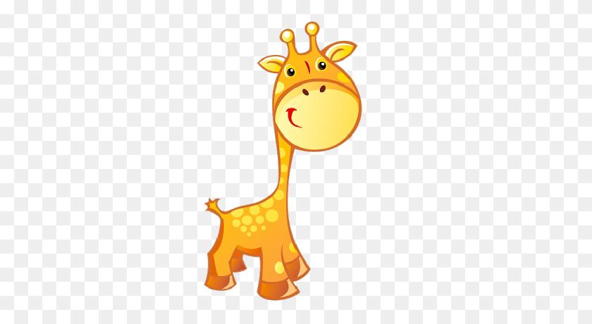 Image Of Baby Giraffe Clipart Giraffe Clip Art Giraffe - Cute Robot Clipart
