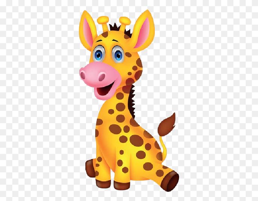 327x593 Image Of Giraffe Clipart Giraffe Clip Art Free Clipartoons - Giraffe Baby Clipart