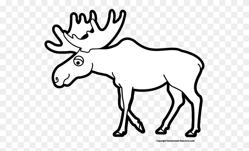 540x450 Image Of Moose Clipart Clip Art Images Free - Moose Antlers Clipart
