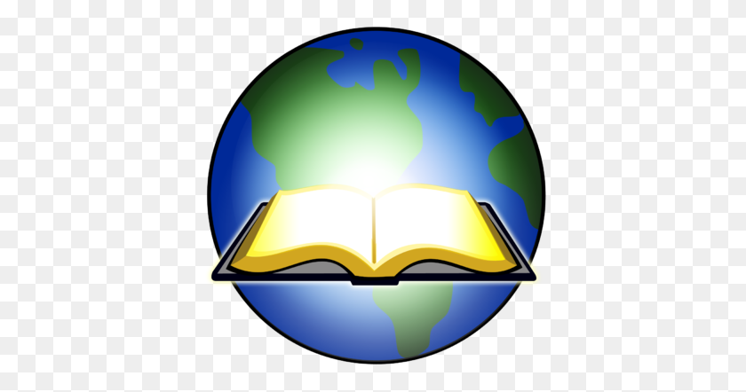 Image Open Bible Glowing Before Earth Bible Clip Art - Open Bible Clipart