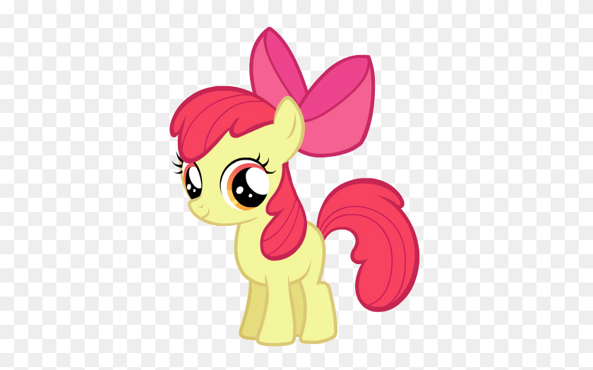 Images Transparent All My Little Fillies Apple Bloom My - Unicorn Clipart Transparent