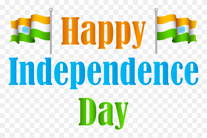 India Happy Independence Day Transparent Png Clip Art Image - Picture Day Clipart