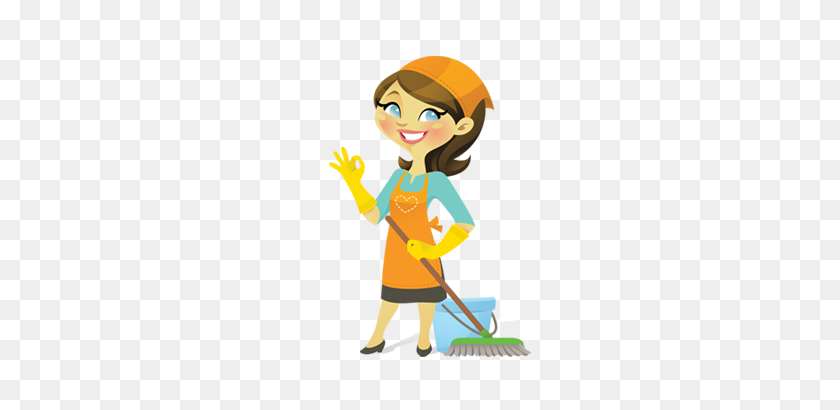 Indian Clipart House Maid - Maid Clipart