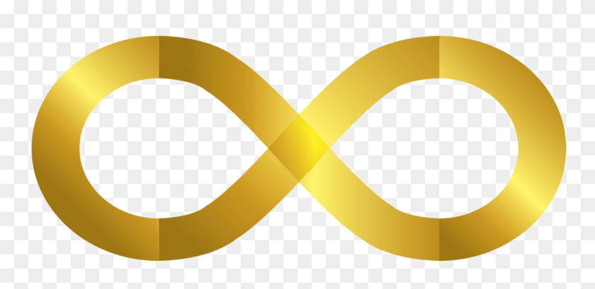 Infinity Symbol Png Images Free Download - Yellow Line PNG