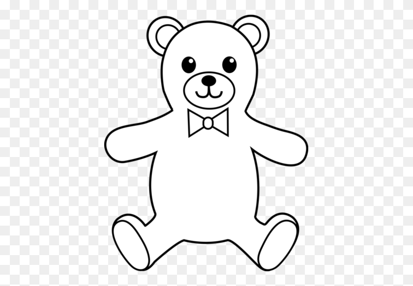 415x523 Information About Teddy Bear Black And White Clipart - Teddy Roosevelt Clipart