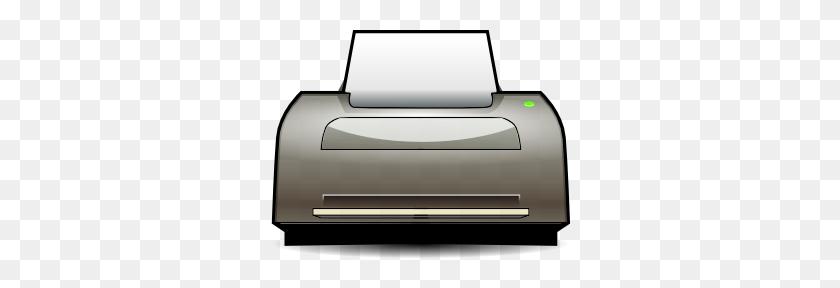 Inkjet Printer Clip Art Free Vector - Laser Clipart
