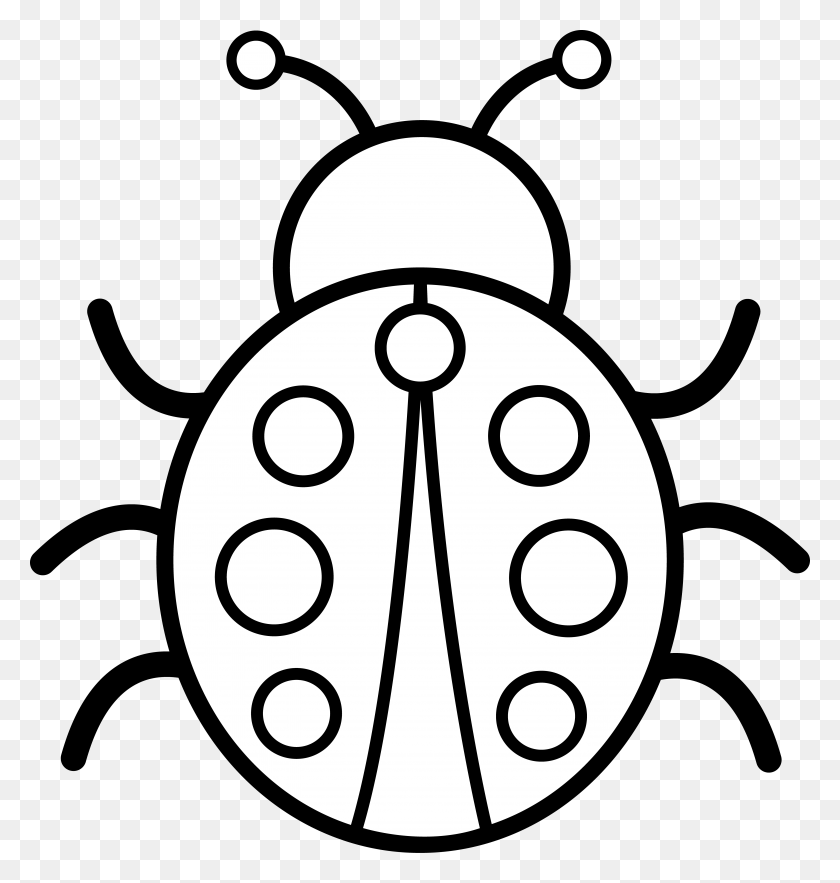 Insect Pictures To Color - Mosquito Clipart Black And White