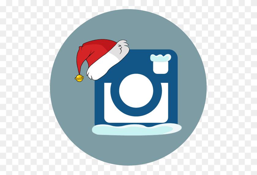 Instagram, Santa Hat, Snow Icon - Santa Hat PNG