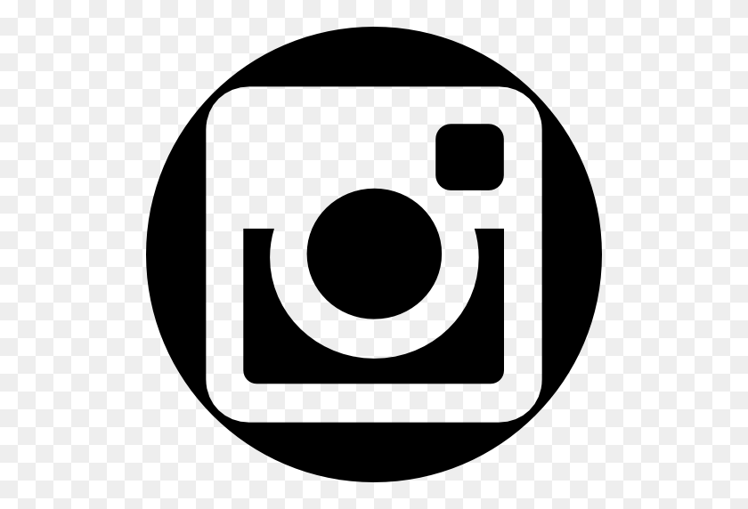 Instagram Social Network Logo Of Photo Camera - White
