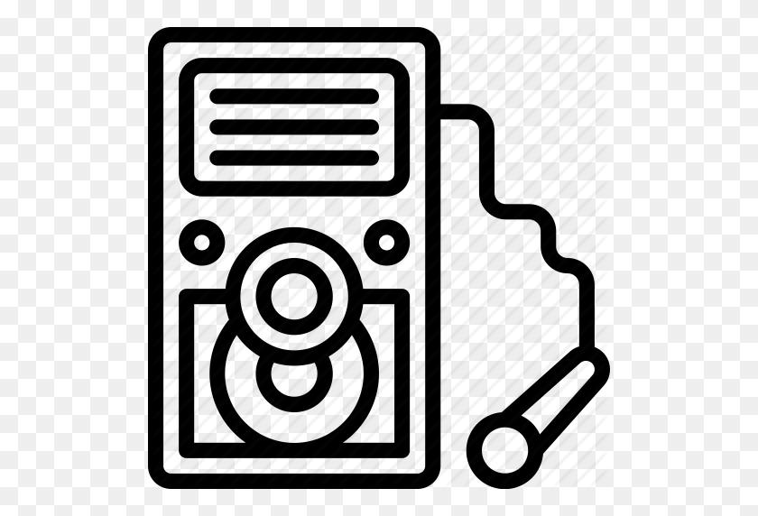 Instruments, Karaoke, Machine, Media, Music, Player, Sing Icon - Karaoke Clipart