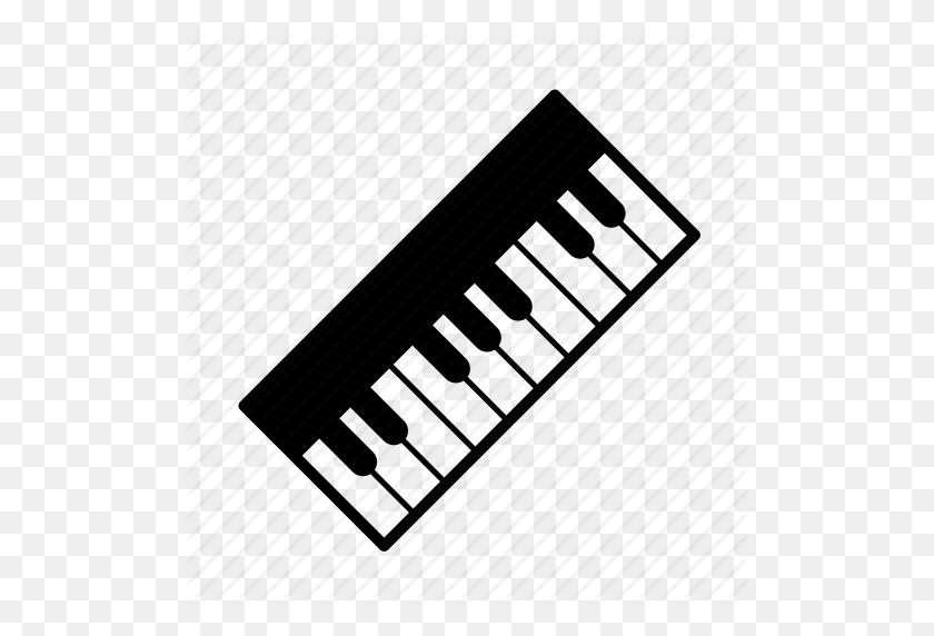 Instruments, Keyboard, Keys, Music, Musical Instrument, Piano - Piano Keyboard PNG