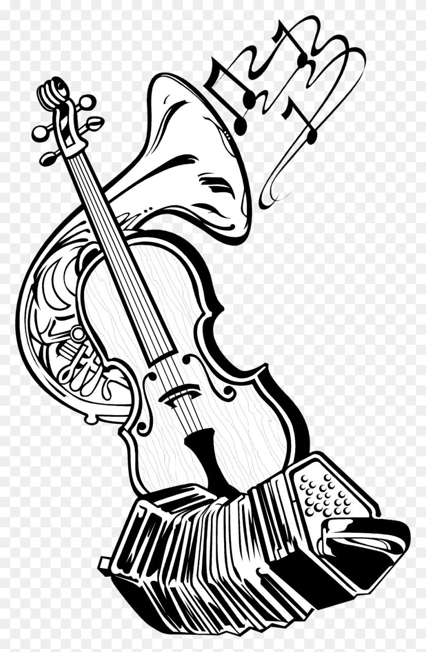 Instruments Music Free Stock Photo Illustration Of Musical - Music Border Clip Art