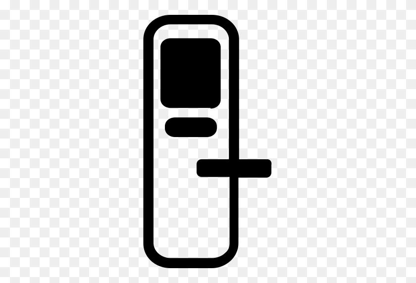 Intelligent Door Lock, Door Lock, Lock Open Icon With Png - Door Lock Clipart