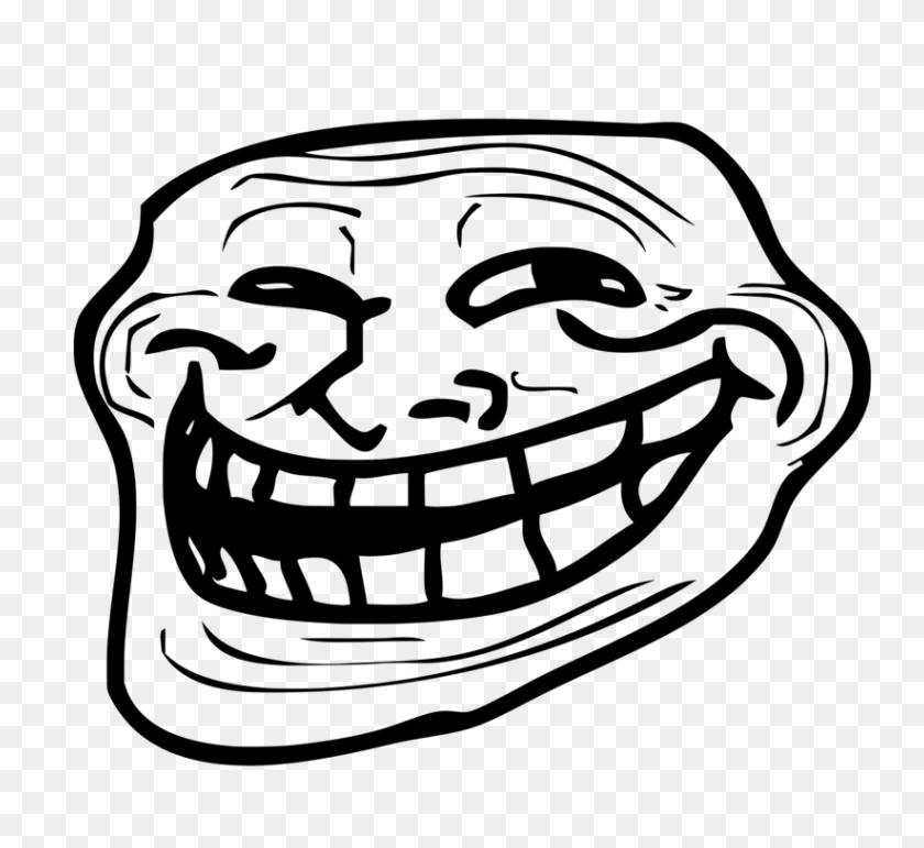 Internet Troll Trollface Rage Comic Internet Meme - Rage Clipart
