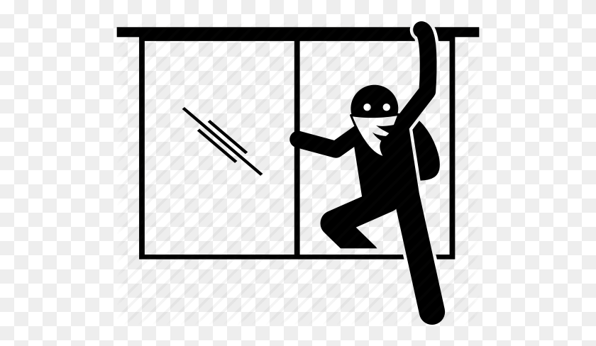 Intruder Clipart Desktop Backgrounds - Thief Clipart Black And White