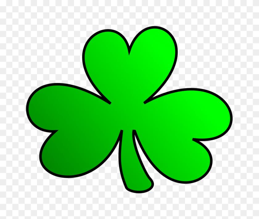 Irish Clipart Clover - Lucky Clipart