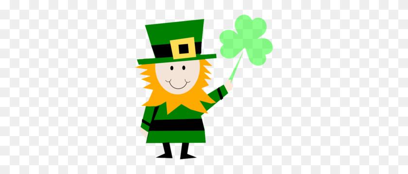 Irish Man Celebrating St Patricks Day Clip Art - Picture Day Clipart
