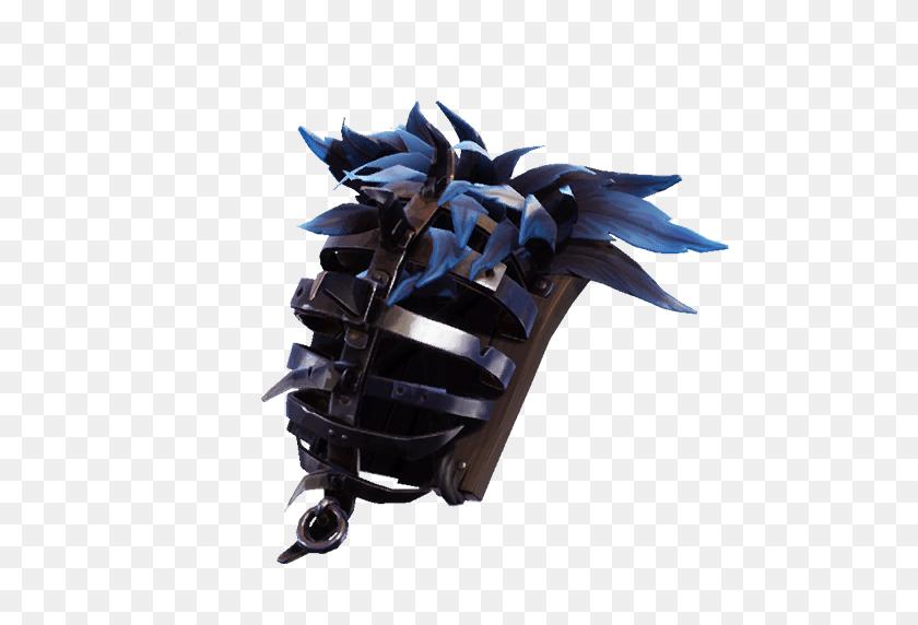 Iron Cage Fortnite Back Bling Fortnite Watch - Fortnite Raven PNG