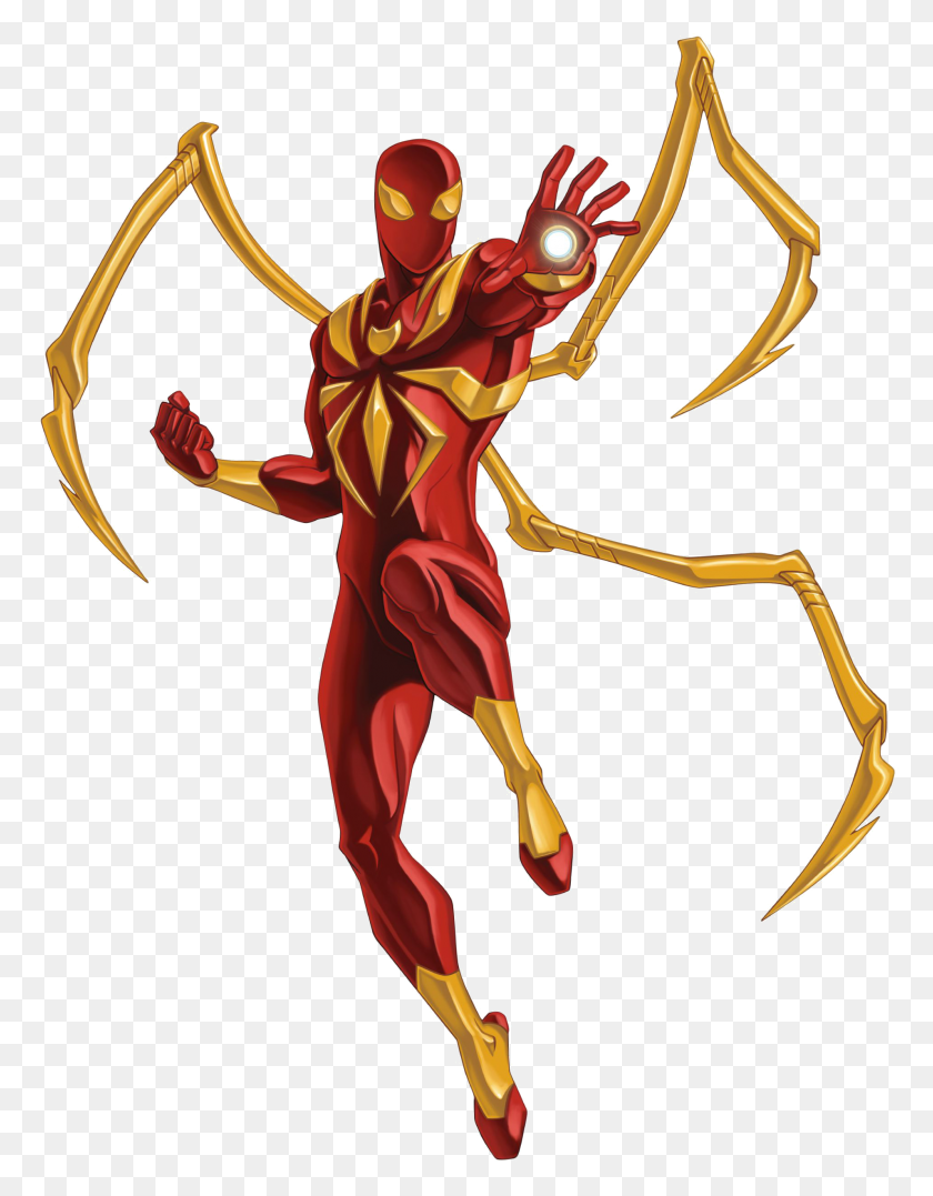 Iron Spiderman Png Transparent Iron Spiderman Images - Spiderman PNG