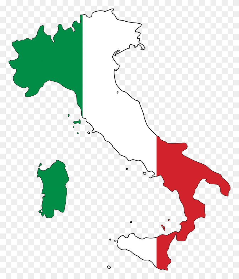 Italy Clip Art - American Flag Clipart PNG