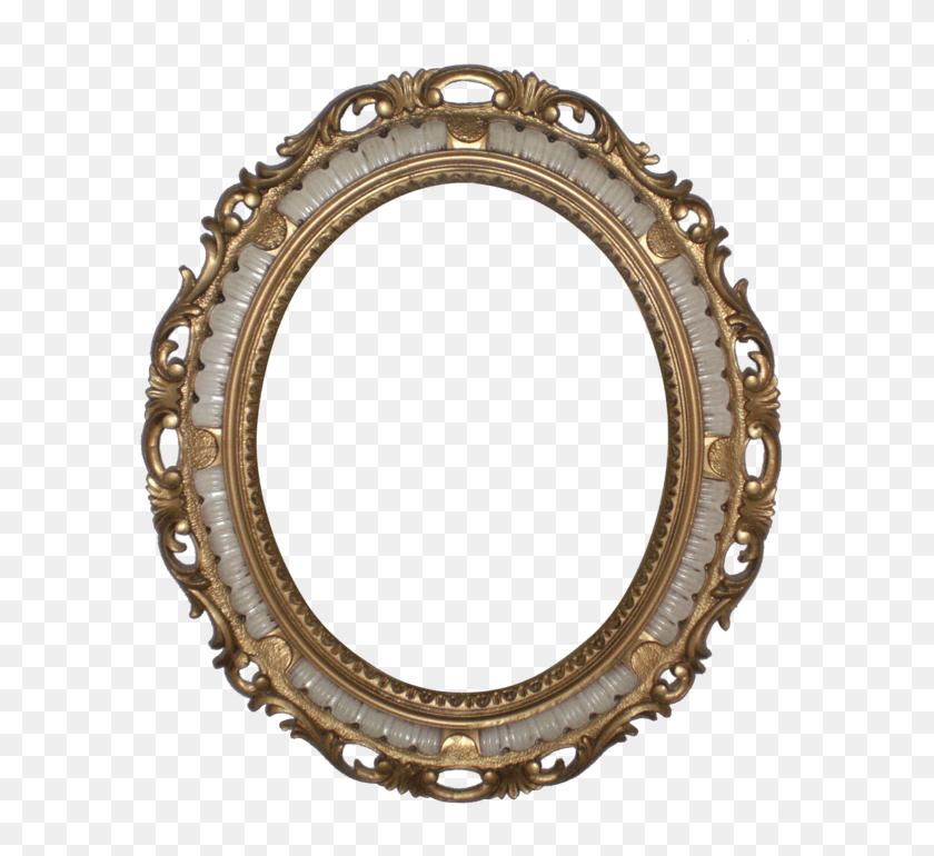 Ivory And Gold Frame Transparent Png - Gold Frame PNG
