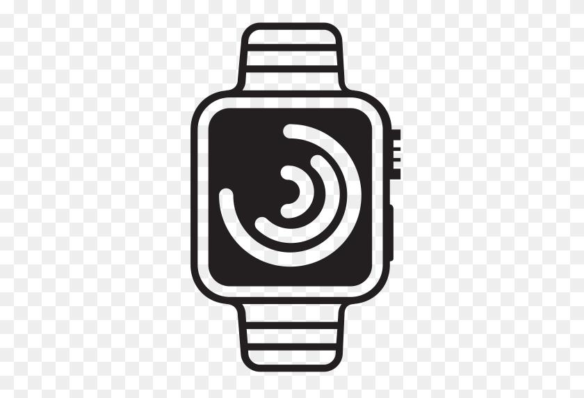 Iwatch, Heart, Monitoring, Running, Applewatch, Run, Watch Icon - Apple Watch Clipart