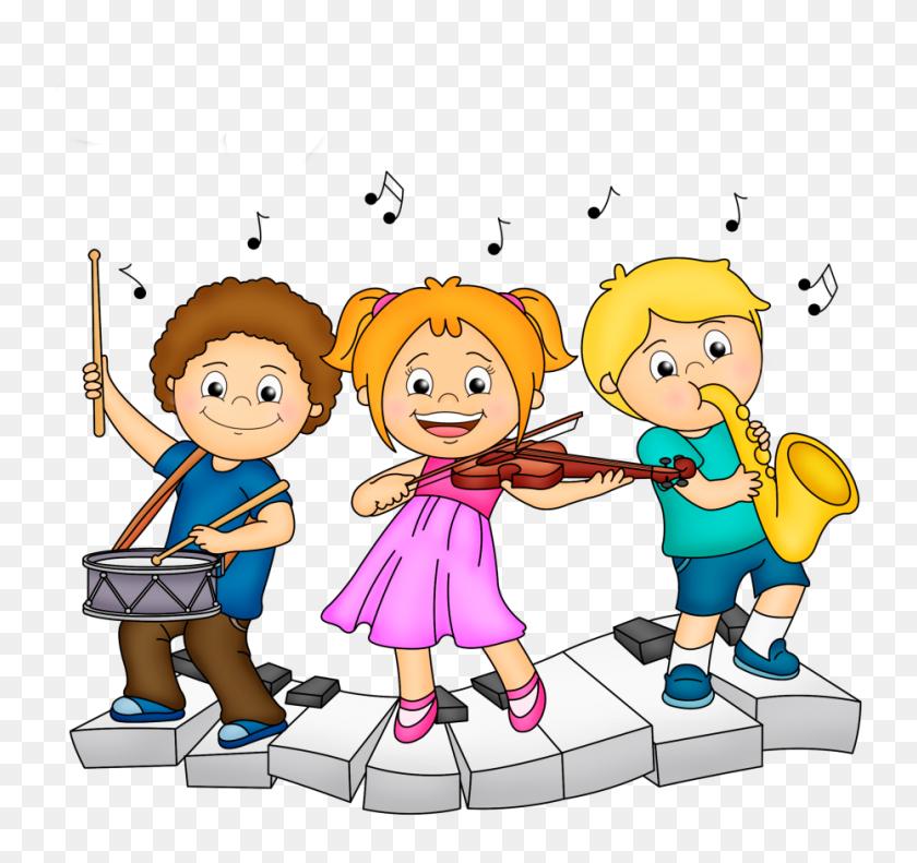 Izobrazhenie Children Music, Music For Kids - Children Learning Clipart