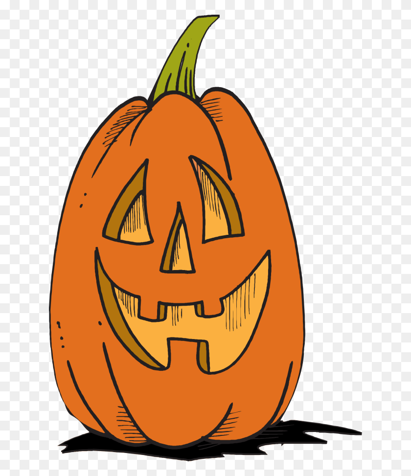 Jack O Lantern Halloween Clip Art Jack - Cute Jack O Lantern Clipart