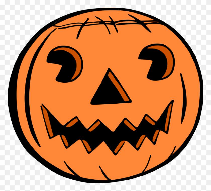 Jack O' Lantern Jack O Lantern Halloween Color - Cute Jack O Lantern Clipart