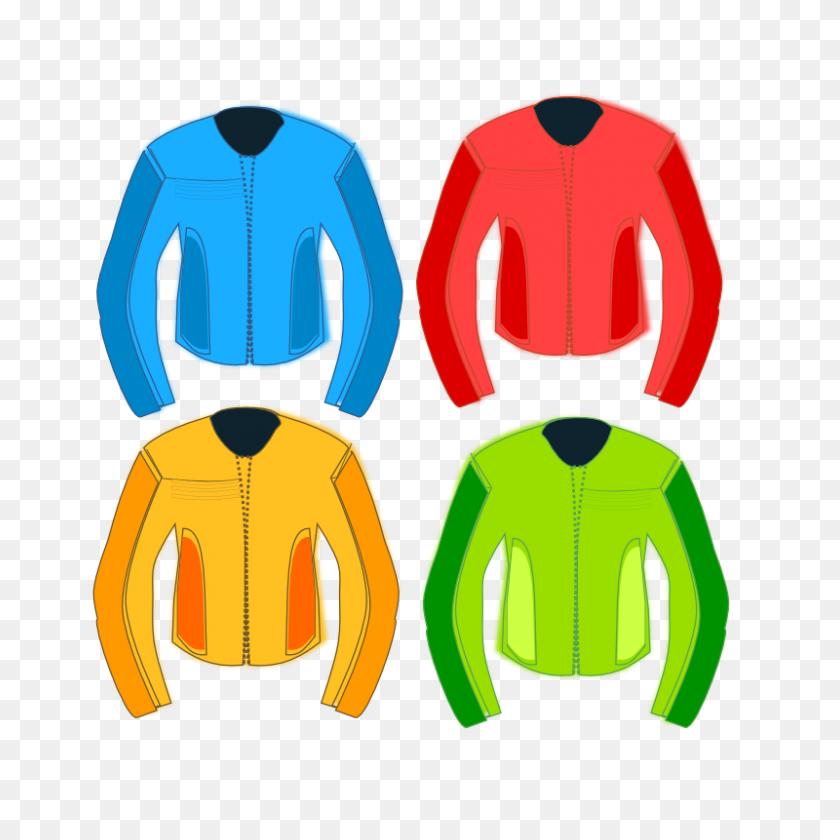 Jacket Clip - Yellow Jacket Clipart