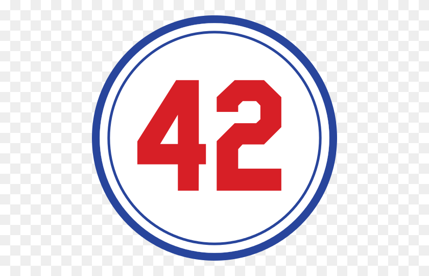 Jackie Robinson's Retired Number - Mets Clipart