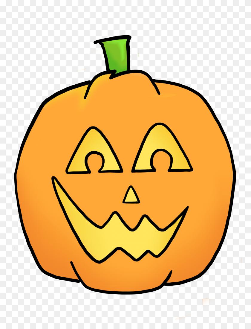 Jackolantern Clip Art - Happy Halloween Clipart Free