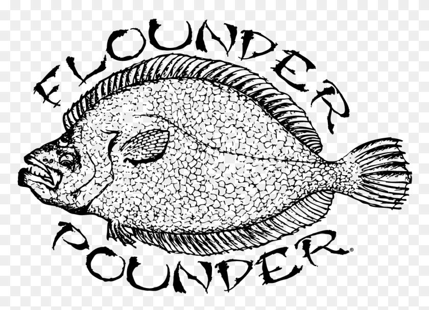 Jacksonville Flounder Pounder - Flounder PNG