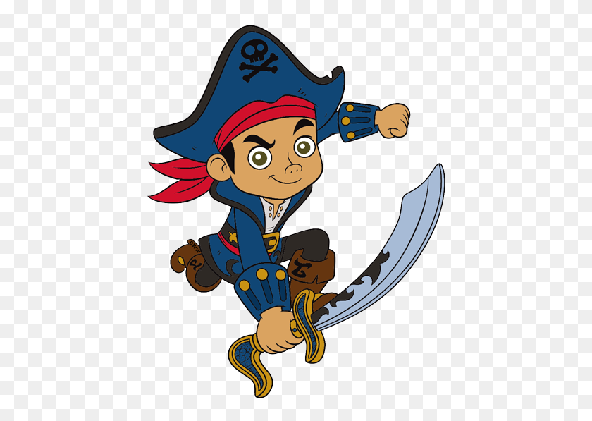 440x537 Jake And The Neverland Pirates Clip Art Disney Clip Art Galore - Nana Clipart