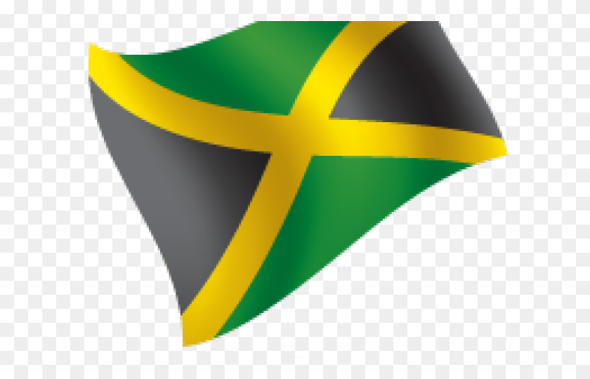 Jamaica Flag Clipart Png - Jamaican Flag PNG