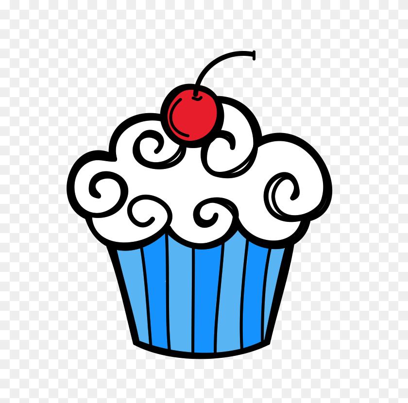 January Cupcake Clipart Cupcakes On Clip Art Cupcake And Cup Cakes - Muffin Clipart Black And White