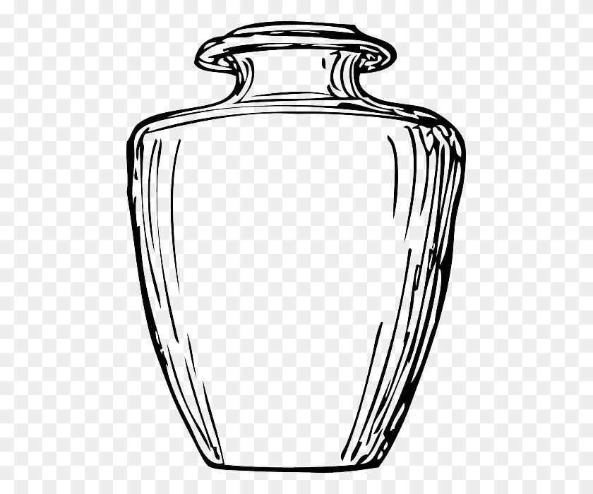 Jar Clipart Big Jar - Mason Jar Clipart Black And White