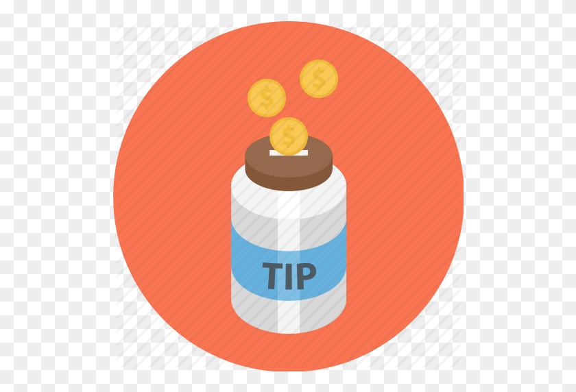 Jar, Tip Jar, Tipping, Tipping Jar Icon - Tip Jar Clip Art