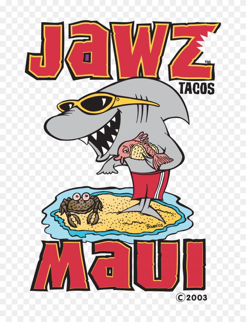 900x1200 Jawz Fish Tacos, Maui Tacos Restaurant In Kihei - Taco Bar Clip Art