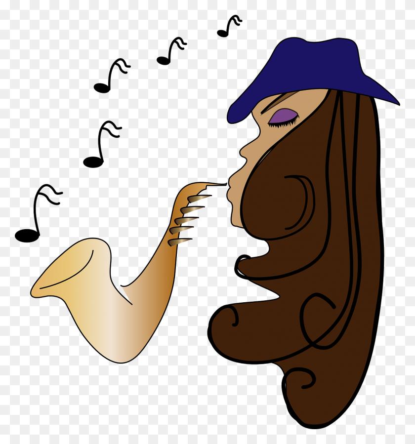Jazz Musician Saxophone Female Transparent Image Musician - Jazz Band Clip Art