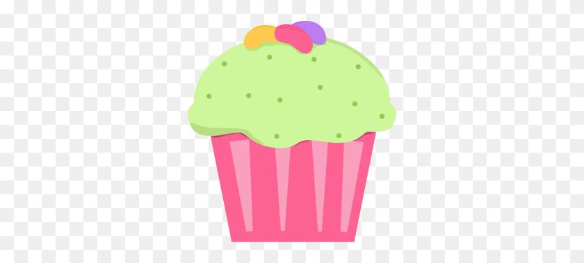Jelly Bean Cupcake Art Cupcakes Cupcakes, Clip Art - Pink Cupcake Clipart