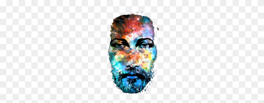 Jesus Christ Face Painting - Jesus Face PNG