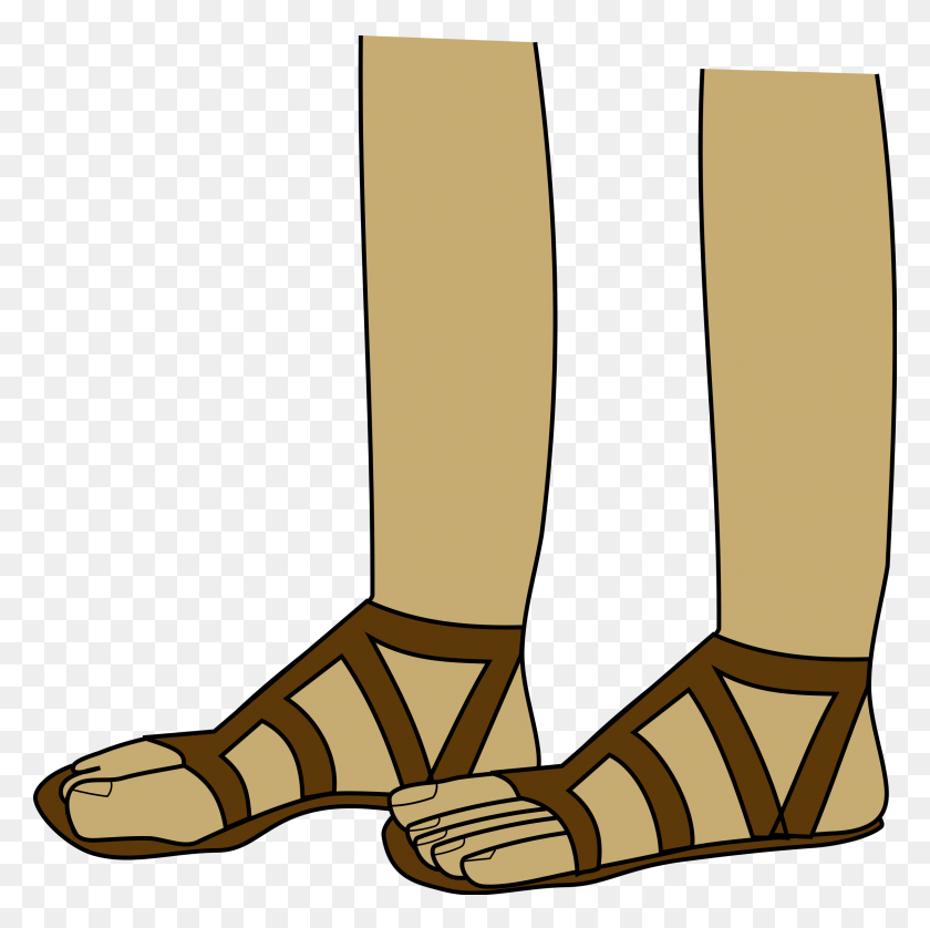 Jesus Clipart Sandal, Jesus Sandal Transparent Free For Download - Jesus Clipart