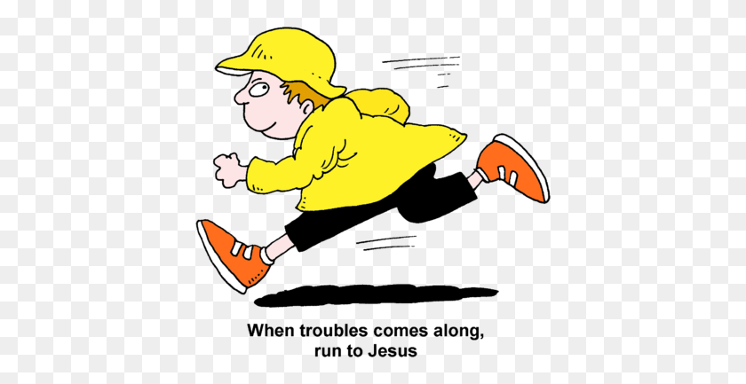 Jesus Running To Us Clipart Clip Art Images - Jesus Loves Me Clipart