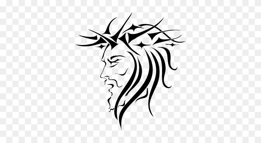 Jesus Vector Vector Download Free Vector - Jesus Face PNG
