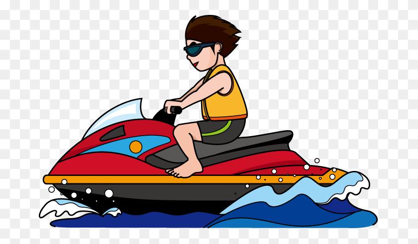 Jet Ski Clipart - Ski Boat Clip Art